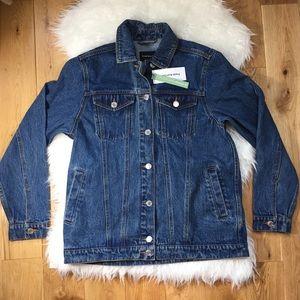 NWT Frank and oak women Martha jean jacket size M